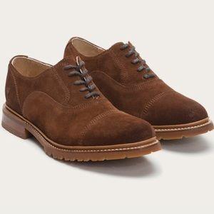 Frye oxfords 👞 suede men shoes brown size 9